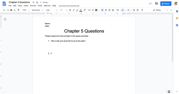 PD6: Using Google Docs with Google Classroom