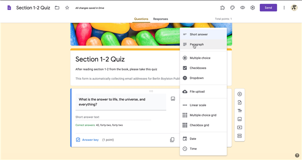 PD3: Creating Quizzes from Google Classroom